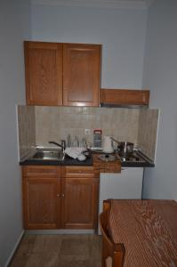 A kitchen or kitchenette at Irene Apartments