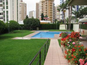 The swimming pool at or near Apartamentos Torre Ipanema