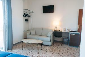 Area soggiorno di Dimore Le Lucane