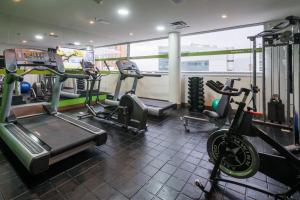 The fitness center and/or fitness facilities at Hampton by Hilton Medellin
