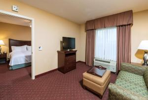 A television and/or entertainment center at Homewood Suites by Hilton Portland
