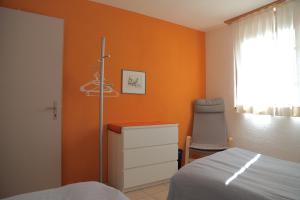 Ein Bett oder Betten in einem Zimmer der Unterkunft Casa Dosc