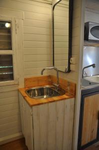 A kitchen or kitchenette at La bicoque