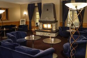 Гостиная зона в Thermal Hotels & Walliser Alpentherme Leukerbad