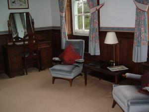 A seating area at Howton Grove House