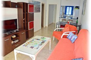A seating area at Apartamento Benalmadena Costa