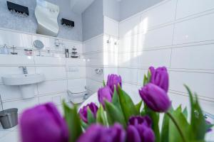 Łazienka w obiekcie Hotel Restauracja Tęczowa