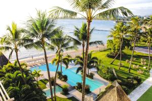A view of the pool at Chateau Royal Beach Resort & Spa, Noumea or nearby