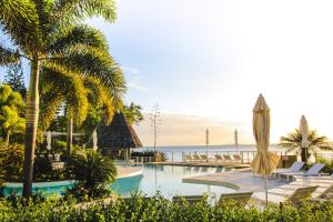 The swimming pool at or near Chateau Royal Beach Resort & Spa, Noumea