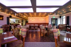 A restaurant or other place to eat at Adamson Hotel