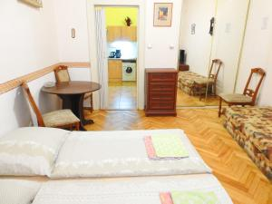 Postel nebo postele na pokoji v ubytování Apartment at Wenceslas Square