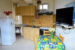 A kitchen or kitchenette at Pantelis