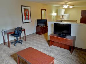 A television and/or entertainment center at Extended Stay America - Princeton - West Windsor