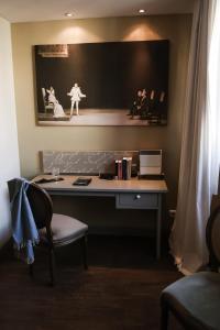 TV/Unterhaltungsangebot in der Unterkunft Romantik Hotel Friedrich von Schiller