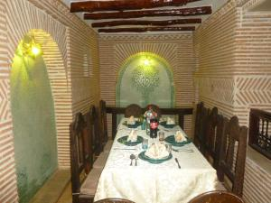 A restaurant or other place to eat at Riad Dar Sissel