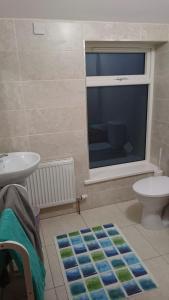 A bathroom at Esker House