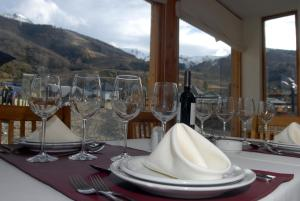 A restaurant or other place to eat at Hotel Knapp Cerro Catedral