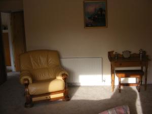 A seating area at Blaencwm B&B