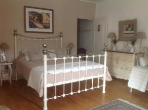 Un ou plusieurs lits dans un hébergement de l'établissement Le petit Figuier