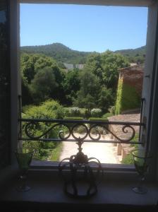 Balcon ou terrasse dans l'établissement Le petit Figuier