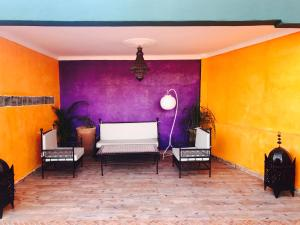 A seating area at Appartement Luxury Services