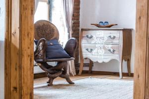 אזור ישיבה ב-Casa Veche