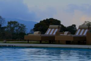 The swimming pool at or close to The Tamara Coorg