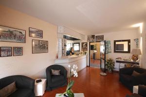 Area soggiorno di Hotel Zì Martino