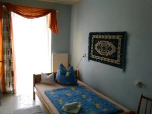 A bed or beds in a room at Apartma Františkovy Lázně