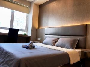 Кровать или кровати в номере Mansion One at Georgetown
