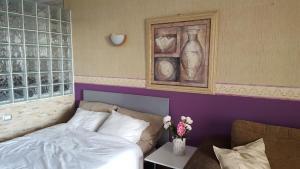 Cama o camas de una habitación en Ocean View Royal Studio