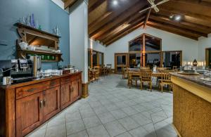 A restaurant or other place to eat at Chimes Spa Retreat