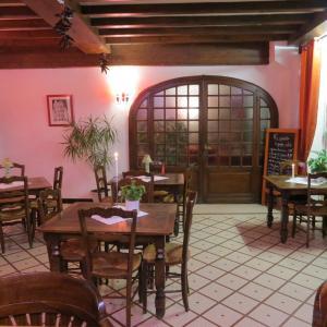 Restaurant ou autre lieu de restauration dans l'établissement Hotel Au Petit Béarn