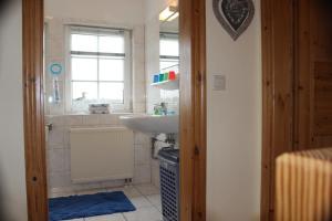 Ein Badezimmer in der Unterkunft Ferienhaus Christa
