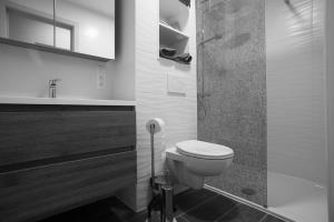Ein Badezimmer in der Unterkunft O-Mer Oostende
