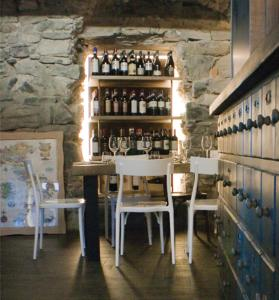 The lounge or bar area at Locanda Posta
