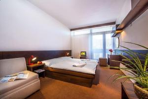 Posteľ alebo postele v izbe v ubytovaní Hotel SOREA MARMOT