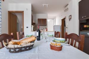 Area soggiorno di Villetta Oltremare
