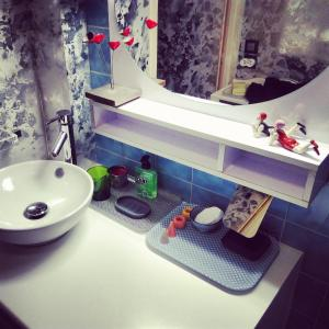 A bathroom at Studio Morny