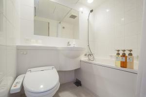 A bathroom at HOTEL MYSTAYS Fukuoka Tenjin Minami