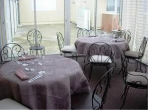 Restaurant ou autre lieu de restauration dans l'établissement L'Epicurien