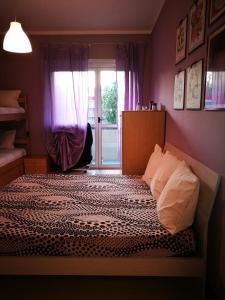 Letto o letti in una camera di Casa Lilla