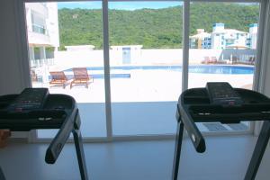 A piscina localizada em Praia Dos Ingleses - Um Canto Maravilhoso Da Ilha ou nos arredores