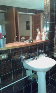 A bathroom at Mariani International Caracas