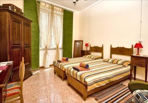 Letto o letti in una camera di Bed & Breakfast Silvia E Paolo