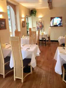 A restaurant or other place to eat at Villa Bianca B&B