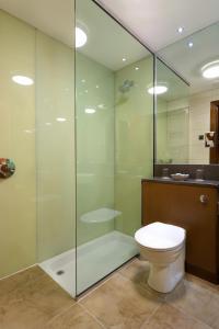 A bathroom at The Bay Hotel