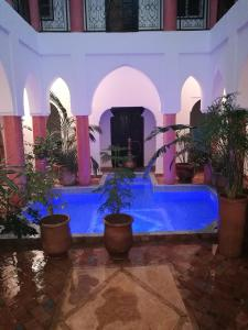 The swimming pool at or near Riad Al Tainam