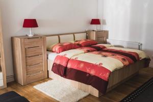 Postelja oz. postelje v sobi nastanitve Apartment Berglez