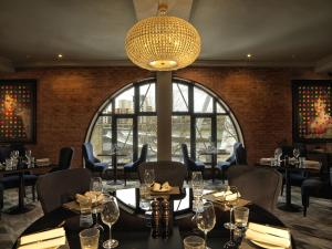 A restaurant or other place to eat at Malmaison Newcastle